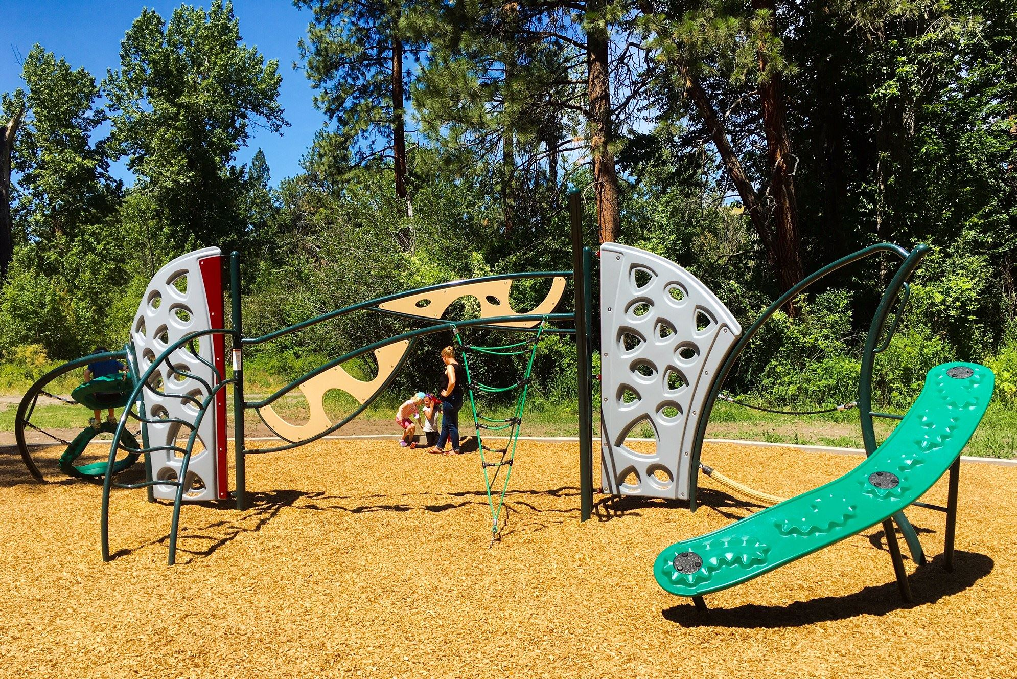 Greenough complete playground