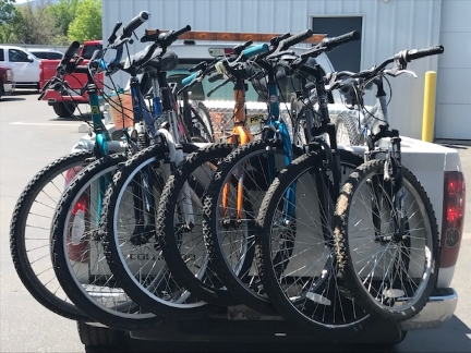 Bicycles recovered by MPD