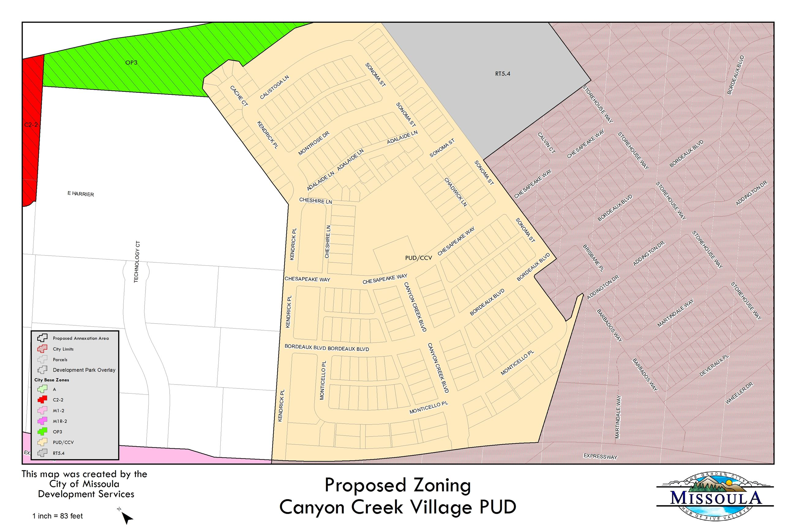 CCV - Zoning Opens in new window