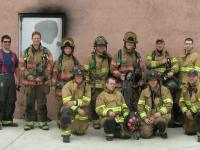 Live Burn Training - MFD and Butte Fire Department